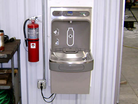 Commercial Plumbing Water Fountain Installation